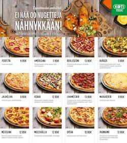 Ravintolat tarjoukset Kotipizza kuvastossa Mikkeli ( Yli 30 päivää )