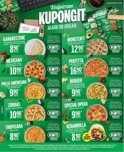 Kotipizza luettelo, ( Vanhentunut)