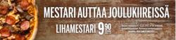 Ravintolat tarjoukset Kotipizza kuvastossa Joensuu
