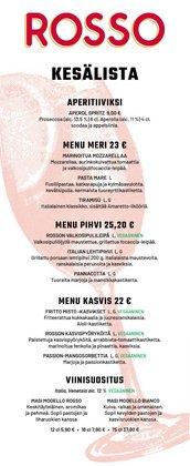 Tarjouksia yritykseltä Rosso kaupungissa Rosso lehtisiä ( 28 päivää jäljellä)