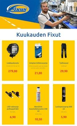 Tarjouksia yritykseltä Fixus kaupungissa Fixus lehtisiä ( 8 päivää jäljellä)