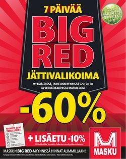 Koti ja Huonekalut tarjoukset MASKU kuvastossa Helsinki ( 2 päivää jäljellä )