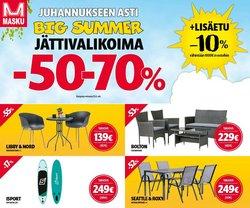 Tarjouksia yritykseltä MASKU kaupungissa MASKU lehtisiä ( Julkaistu eilen)