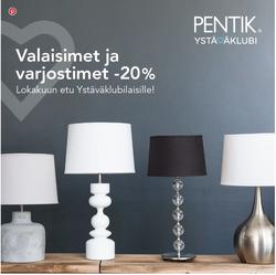 Tarjouksia yritykseltä Pentik kaupungissa Tampere lehtisiä