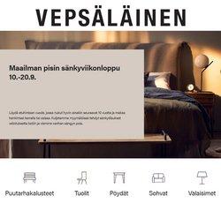 Tarjouksia yritykseltä Vepsäläinen kaupungissa Vepsäläinen lehtisiä ( 3 päivää jäljellä)