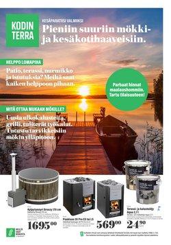 Tarjouksia yritykseltä Koti ja Huonekalut kaupungissa Kodin Terra lehtisiä ( Vanhenee tänään)