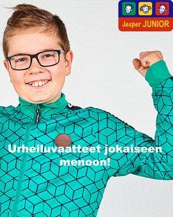 Tarjouksia yritykseltä Jesper Junior kaupungissa Jesper Junior lehtisiä ( 4 päivää jäljellä)