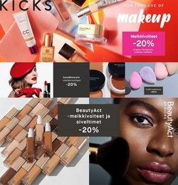 Kosmetiikka ja Kauneus tarjoukset Kicks kuvastossa Helsinki ( 5 päivää jäljellä )