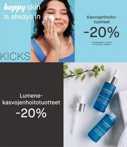 Tarjouksia yritykseltä Kosmetiikka ja Kauneus kaupungissa Kicks lehtisiä ( 17 päivää jäljellä)