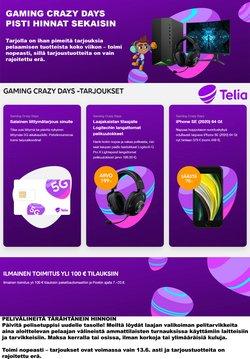 Tarjouksia yritykseltä Telia kaupungissa Telia lehtisiä ( Vanhentunut)