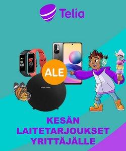 Tarjouksia yritykseltä Telia kaupungissa Telia lehtisiä ( Vanhenee pian)