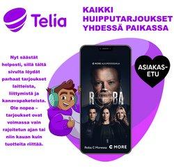 Tarjouksia yritykseltä Telia kaupungissa Telia lehtisiä ( 5 päivää jäljellä)