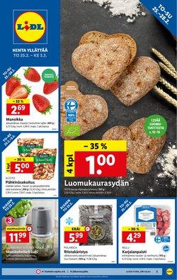Supermarket tarjoukset Lidl kuvastossa Forssa ( 4 päivää jäljellä )