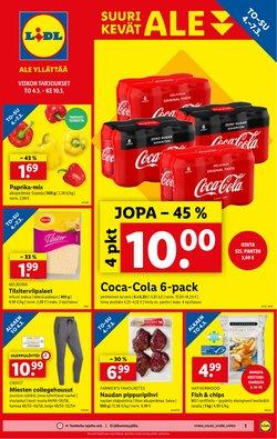 Supermarket tarjoukset Lidl kuvastossa Lempäälä ( 3 päivää jäljellä )