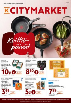 Supermarket tarjoukset K-Citymarket kuvastossa Forssa ( Vanhenee pian )