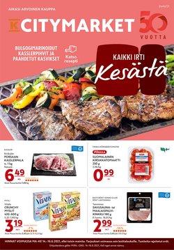 K-Citymarket luettelo, ( Julkaistu tänään)