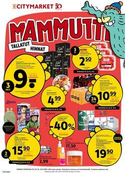 K-Citymarket luettelo, ( Julkaistu eilen)