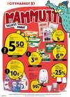 K-Citymarket luettelo, ( Vanhenee tänään )