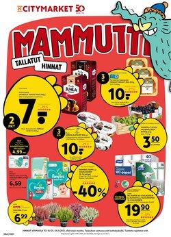 K-Citymarket luettelo, ( Vanhenee tänään)
