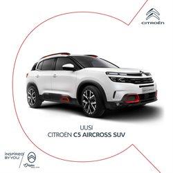 Autot ja Varaosat tarjoukset Citroën kuvastossa Tornio