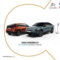 Tarjouksia yritykseltä Citroën kaupungissa Citroën lehtisiä ( Yli 30 päivää)