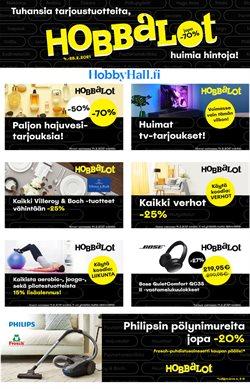 Koti ja Huonekalut tarjoukset Hobby Hall kuvastossa Kuopio ( 2 päivää jäljellä )