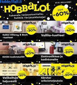 Tarjouksia yritykseltä Hobby Hall kaupungissa Hobby Hall lehtisiä ( 7 päivää jäljellä)