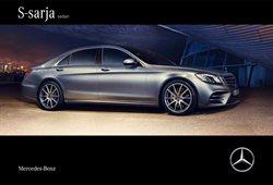 Autot ja varaosat tarjoukset Mercedes-Benz kuvastossa Helsinki