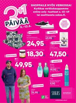 Tarjouksia yritykseltä Sokos kaupungissa Sokos lehtisiä ( Vanhenee tänään)