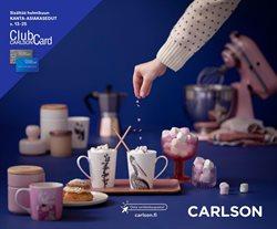 Tarjouksia yritykseltä Koti ja Huonekalut kaupungissa Carlson lehtisiä ( Vanhenee pian )