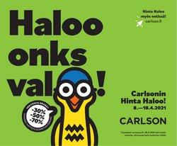 Tarjouksia yritykseltä Carlson kaupungissa Carlson lehtisiä ( Vanhentunut)