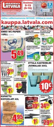 Supermarket tarjoukset Latvala kuvastossa Lohja ( 3 päivää jäljellä )