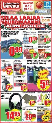 Tarjouksia yritykseltä Supermarket kaupungissa Latvala lehtisiä ( Julkaistu eilen)