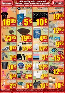 Tarjouksia yritykseltä Supermarket kaupungissa Latvala lehtisiä ( Vanhenee pian)