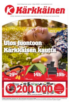 Tarjouksia yritykseltä Kärkkäinen kaupungissa Kärkkäinen lehtisiä ( 3 päivää jäljellä)