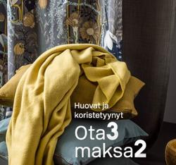 Tarjouksia yritykseltä Hemtex kaupungissa Helsinki lehtisiä