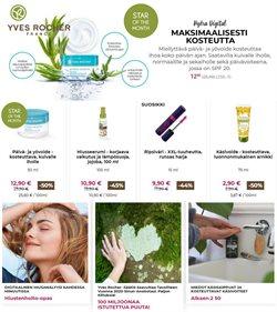 Kosmetiikka ja Kauneus tarjoukset Yves Rocher kuvastossa Helsinki ( Vanhenee tänään )