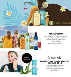 Tarjouksia yritykseltä Kosmetiikka ja Kauneus kaupungissa Yves Rocher lehtisiä ( 5 päivää jäljellä)
