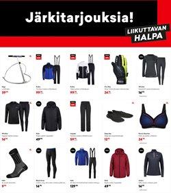 Urheilu tarjoukset Budget Sport kuvastossa Kuopio ( Vanhenee tänään )
