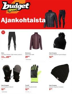 Urheilu tarjoukset Budget Sport kuvastossa Vantaa ( 7 päivää jäljellä )