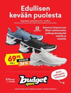 Budget Sport luettelo, ( Vanhenee pian )