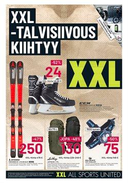 Rautakauppa tarjoukset XXL kuvastossa Espoo ( Vanhenee pian )