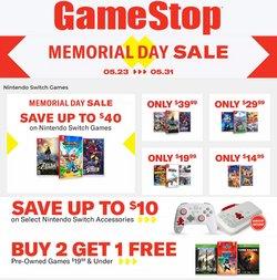 Tarjouksia yritykseltä GameStop kaupungissa GameStop lehtisiä ( Vanhentunut)
