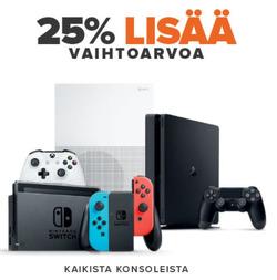 Tarjouksia yritykseltä GameStop kaupungissa Jyväskylä lehtisiä