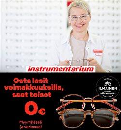 Terveys ja Optiikka tarjoukset Instrumentarium kuvastossa Järvenpää ( Yli 30 päivää )