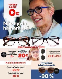Tarjouksia yritykseltä Terveys ja Optiikka kaupungissa Instrumentarium lehtisiä ( 19 päivää jäljellä)