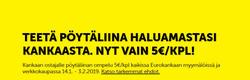 Tarjouksia yritykseltä Eurokangas kaupungissa Helsinki lehtisiä