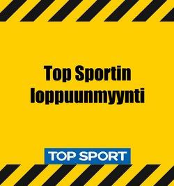 Tarjouksia yritykseltä Top Sport kaupungissa Top Sport lehtisiä ( Vanhentunut)