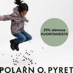 Tarjouksia yritykseltä Polarn o. Pyret kaupungissa Polarn o. Pyret lehtisiä ( Vanhentunut)