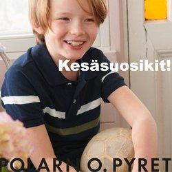 Tarjouksia yritykseltä Polarn o. Pyret kaupungissa Polarn o. Pyret lehtisiä ( 4 päivää jäljellä)